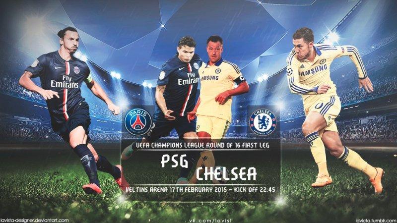 186. Paris Saint-Germain (FRA) - Chelsea FC (ENG) 1:1