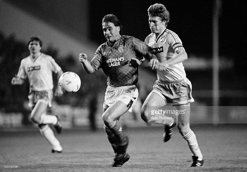 Glasgow Rangers F.C. (SCO) - F.C. Dinamo Kiev (USSR) 2:0