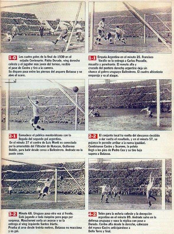 №18. URUGUAY – ARGENTINA 4:2 (1:2). Туман, мафия, два мяча