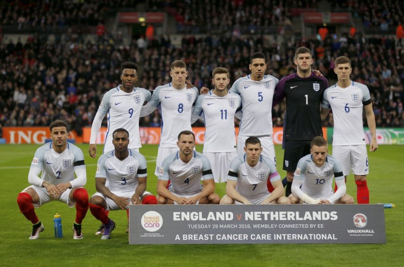 Участники Евро-2016. Сборная Англии