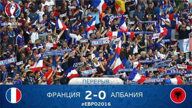 №15. Франция – Албания – 2:0. ГРИЗМАННИЯ.