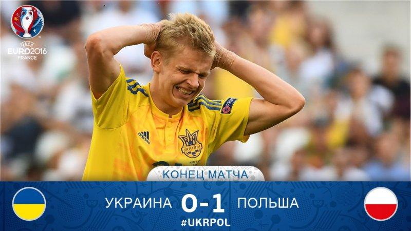 № 29. УКРАИНА – ПОЛЬША – 0:1.Какая боль, EURO - Украина - 5:0